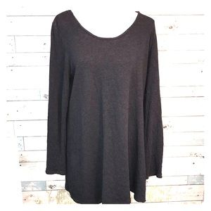 Pure Jill charcoal top size small              012